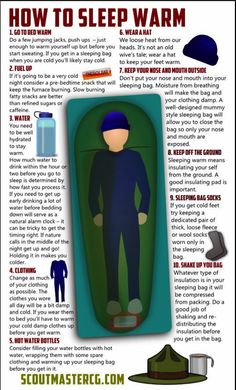 Don't assume your Scouts know how to sleep warm while camping, it's importan. - Don't assume your Scouts know how to sleep warm while camping, it's important to instruct them - Camping And Hiking, Camping Hacks, Bushcraft Camping, Vw Camping, Camping Survival, Outdoor Survival, Family Camping, Survival Prepping, Camping Ideas