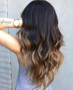 Hair - The Best Ombre Hairstyles, i the dark brown & toffee and dark brown. Ombre Hair - The Best Ombre Hairstyles, i the dark brown & toffee and dark brown.Ombre Hair - The Best Ombre Hairstyles, i the dark brown & toffee and dark brown. Smart Hairstyles, Modern Hairstyles, Hairstyles 2018, Latest Hairstyles, Brunette Hairstyles, Trendy Hairstyles, Brown Hairstyles, Hot Hair Styles, Ombre Hair Styles