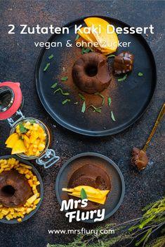 Gesunder Schokoladenpudding - Kaki Dessert vegan - Mrs Flury Keto Brownies, Comfort Food, Vegan Recipes, Vegan Food, Sweet Stuff, Healthy Desserts, Just Bake, Dessert Ideas, Veggie Food