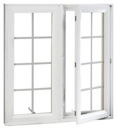Confession: I HATE sash windows. They never really feel open to me. I'll be using hinged windows in TiHau, with deep usable sills and screen-backed shutters for privacy and security. Sunroom Windows, Casement Windows, Windows And Doors, Sash Windows, Garage Exterior, Exterior Trim, Crank Out Windows, Window Hinges, Interior Shutters