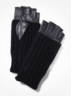 FabSugar's Picks: Check Out Our Editors' Holiday Wish List : Because I lose gloves on a weekly basis, I keep a stockpile of different styles, and I was so psyched to find these edgy cool Express gloves ($50). The long ribbing makes them extra warm, and fingerless is a must for a texter like me. They look ultra luxe, and make for a great stocking stuffer!  — Noria Morales, style director