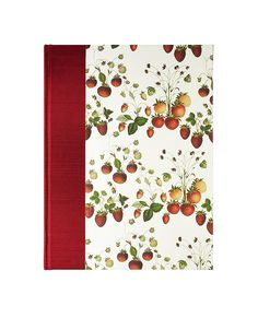 "fill this wonderful blank Recipe Book ""STRAWBERRIES"" w/your fav recipes and display! just $25  #wolfiesbindery"