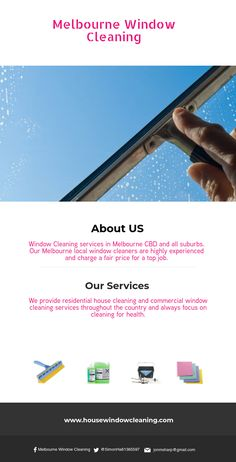 Melbourne Window Cleaning Window Cleaning services in Melbourne CBD and all suburbs. Our Melbourne local window cleaners are highly experienced and charge a fair price for a top job. Commercial Window Cleaning, Window Cleaning Services, Local Cleaning Services, Melbourne Cbd, Melbourne House, Clean Memes, Fair Price, Window Cleaner, Clean House