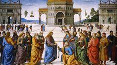 jesus entrega las llaves de la iglesia a san pedro benedicto XVI castel gandolfo enciclicas oraciones exhortaciones apostolicas krouillong comunion en la mano es sacrilegio