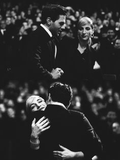 nowhollywood:    Xavier Dolan and Nancy Grant at a Cannes Film Festivals Palme D'Or Award and closing ceremony | 22.05.2016