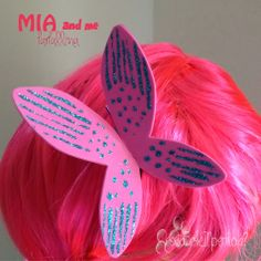 cosa bolle in pentola?: Costume carnevale Mia and me. Farfallina per capelli DIY #2