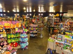 You'll be greeted by colorful toys and gadgets everywhere you look. Playthings Inc, in fact, has more than 3,000 toys in stock at any given time.
