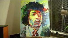 Stephen Bennett, Portrait Artist on Dubai TV - Jarida Bila Waraq - YouTube