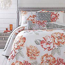 image of Jessica Simpson Golden Peony Comforter Set