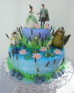 Image result for princess  and the frog cake