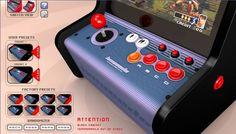 Bartop arcade controls