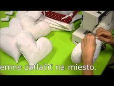 Kurzy šitia - Ako ušiť vankúš v tvare srdca? - YouTube
