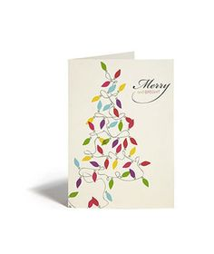 Merry & Bright Card by Snow & Graham, 10 for $16