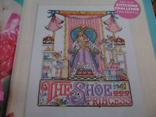 Shoe Princess The World of Cross Stitching  Issue 98 June 2005 Saved