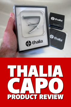 Is the Thalia #guitar #capo really worth the premium price tag? Read my in-depth review to find out...