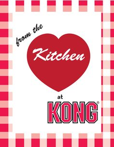 Check out KONGcompany.com for more Stuff'N Recipes