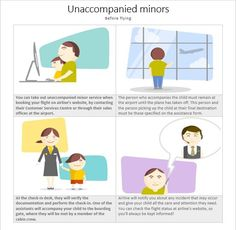 Unaccompanied Minors Before Flight Peace Of Mind, Travel With Kids, Travelling, Children, Boys, Kids, Sons, Kids Part, Kid