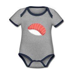 Geschenke Shop | Sushi - Baby Bio-Kurzarm-Kontrastbody Baby Outfits, Sushi, Baby Kind, Kind Mode, Babys, Onesies, Kids, Clothes, Fashion