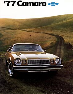 brown chevrolet camaro 1977