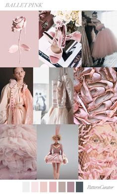 Ballet Pink | PatternCurator | Style Color Palettes | Colour | Fashion Color Palettes | Mood Boards | Color Inspiration | Personal Style Online | Online Fashion Stylist | Fashion For Working Moms & Mompreneurs