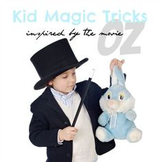 10 Kid Magic Tricks inspired by the movie Oz - All 10 are pretty simple and can be done with things already have around the house.