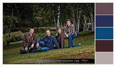 Family Portraits - Style and Outfit Selections - Color Palettes - NP Design & Photography - www.npdesignphotography.com