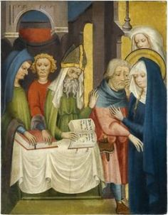 So-called Ulmer altar: The Rejection of Joachim's sacrifice, c 140