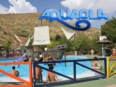 Refrescate en Parque Acuatico Aquaola de Granada