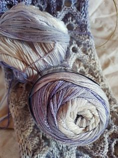 Ravelry: Baba64's Cowl *lilac variations*