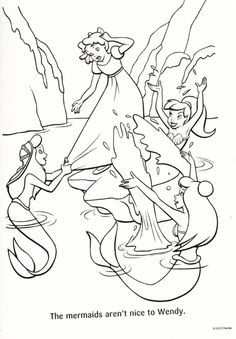 47 Best Coloring Pages (Peter Pan) images   Peter pan coloring pages ...
