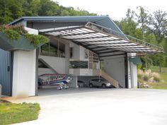 Résultats de recherche d'images pour «personal hangar/ apartment concept art modern»