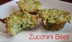 Zucchini Bites are a great meal to feed your tots who refuse to eat their veggies! So much flavor, the zucchini is shredded and they are shaped like a muffin! These also pass for crustless quiche! A toddler meal that can also be used during a brunch- SCORE!