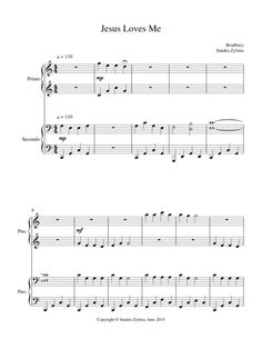 Jesus Loves Me is one of the most popular Christian hymns around the world sung by many generations. Enjoy this arrangement of a timeless hymn! (Approximately 2 minutes, 5 pages)