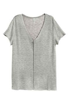 Camisola com decote em V | H&M