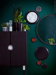 Måla väggen grön?