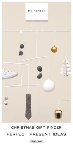 Christmas gift email: gifts in baubles?