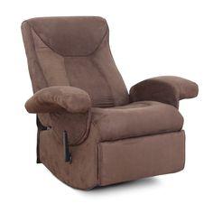 Odpočiňte si na polohovateľnom elektrickom relaxačnom kresle Suarez a načerpajte potrebné sily. Kreslo je pohodlné, má výklopnú podnožku, funkcie vibrovania a vyhrievania v oblasti pásu a je v elegantnom hnedom prevedení.