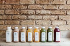 Organic Cold Pressed Juice   Deep Greens: Cucumber, Celery, Spinach, Fennel, Lemon   Greens: Apple, Cucumber, Celery, Spinach   Spiced; Pineapple, Celery, Ginger, Chilli, pinch of Cayenne   Roots: Carrot, Apple, Beetroot, Ginger   Fruit: Apple, Pineapple, Orange, Lemon   Mae Deli