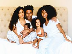 Eric Benet, Wife Manuela Testolini Share First Photo of Baby Daughter Amoura -- See the Adorable Family Pic!