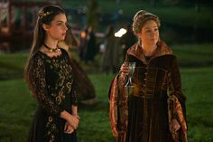 """Reign [TV Show] Photo: Reign """"Prince of the Blood"""" promotional picture Reign Catherine, Reign Mary, Mary Queen Of Scots, Queen Mary, Reign Season 2, Celina Sinden, Reign Serie, Marie Stuart, Megan Follows"""