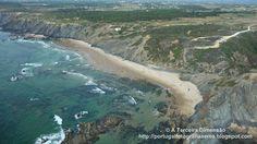 A Terceira Dimensão - Fotografia Aérea: Praia do Vale dos Homens