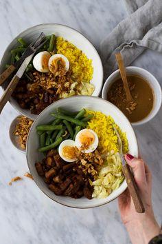 recipes to make Pureed Food Recipes, Easy Healthy Recipes, Veggie Recipes, Asian Recipes, Vegetarian Recipes, Chicken Recipes, Tempeh, Good Food, Yummy Food