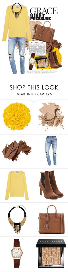 """""""under pressure"""" by redcatmeow ❤ liked on Polyvore featuring Illamasqua, Bobbi Brown Cosmetics, Anja, Abercrombie & Fitch, Prada, Paul Andrew, Dorothy Perkins, Yves Saint Laurent and Bulova"""