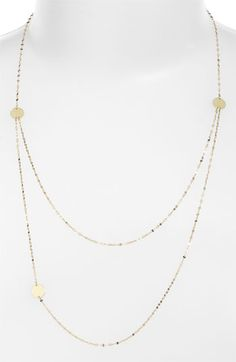 Lana Jewelry Tri Disc Necklace available at #Nordstrom