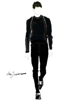 2013 f/w Givenchy  by Lee, ja yeong