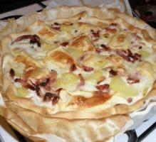 Recette - Pizza savoyarde - Notée 4.2/5 par les internautes