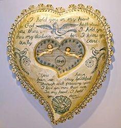 hand carved sailor's valentine.