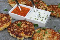 Southwest flavors combine to create these delicious fried veggie cakes