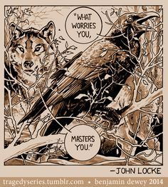 "John Locke: ""What worries you, masters you."""