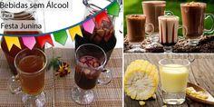Veja nesta matéria algumas receitas deliciosas de bebidas sem álcool para festa junina, festas de São João ou para festas de aniversário infantil com tema de festa junina.